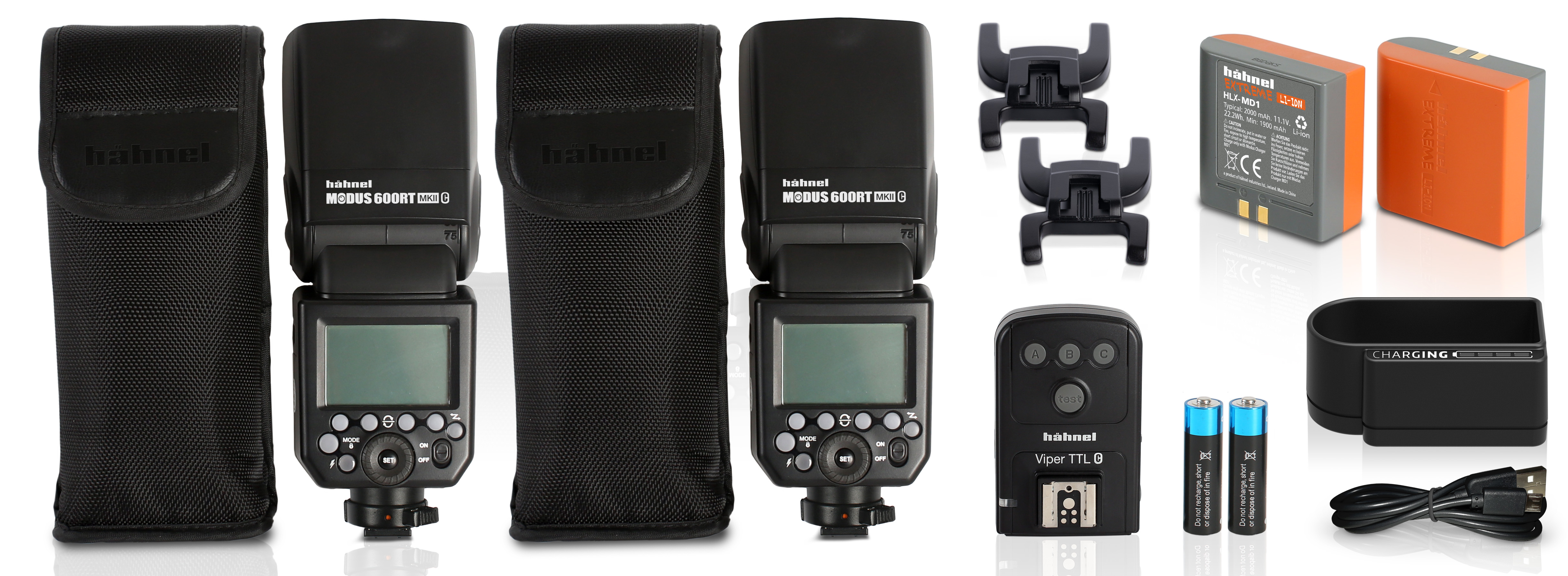 Hahnel Modus Twin 600RT MK II Pro Kit for Nikon