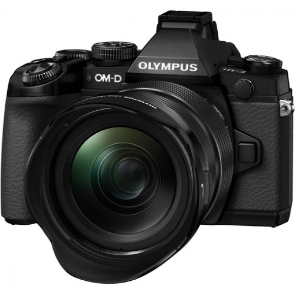 Olympus OM-D E-M1 Mark II Mirrorless Digital Camera with 12-40mm f/2.8 Lens Kit with FREE HLD-9 Power Grip Battery