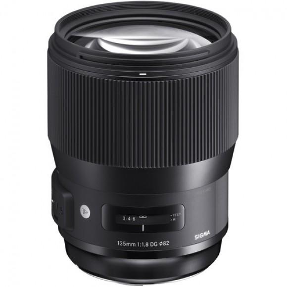 Sigma 135mm f1.8 DG HSM Art Lens for Nikon SIG-135F1.8-DG-HSM-N