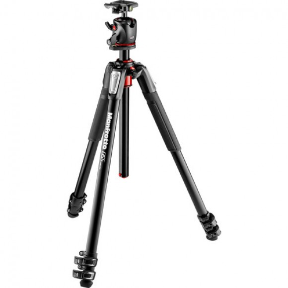 Manfrotto Aluminum Tripod with XPRO Ball Head and 200PL QR Plate MN-MK055XPRO3-BHQ2