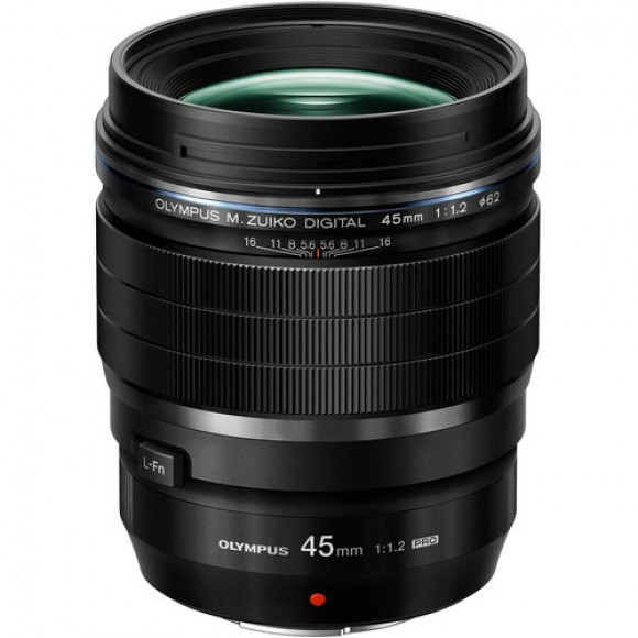 Olympus M.Zuiko Digital ED 45mm f/1.2 PRO Lens with €175 Cash Back Available and €100 Instant Discount