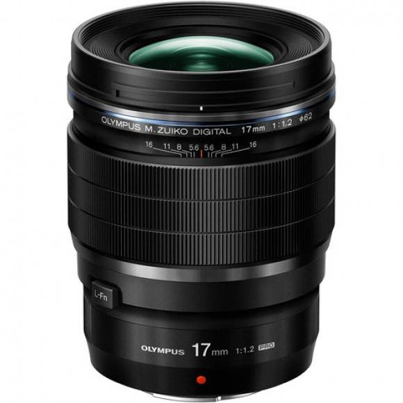 Olympus M.Zuiko Digital ED 17mm f/1.2 PRO Lens, €175 Cash Back Available
