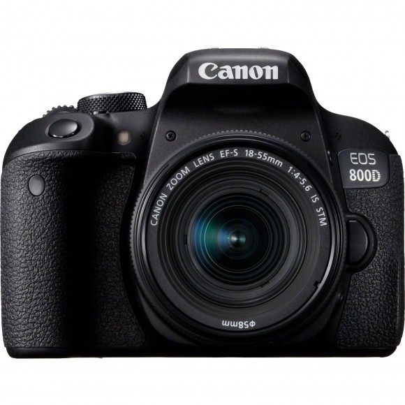 Canon 800D Camera and 18-55mm IS-STM Lens Kit