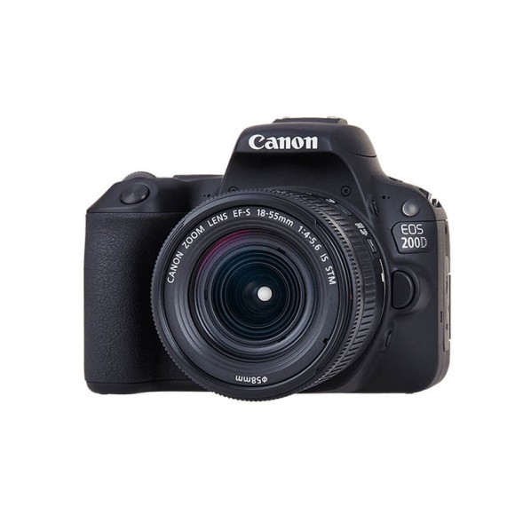 CANON EOS 200D +18-55MM IS STM Lens Black