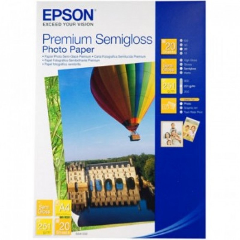Epson Premium Semi-Gloss Paper- Choose