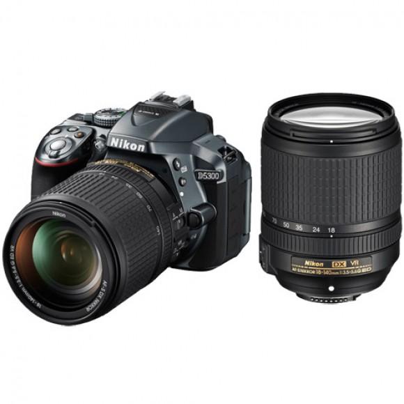 Nikon D5300 DSLR Camera with 18-140mm VR Lens