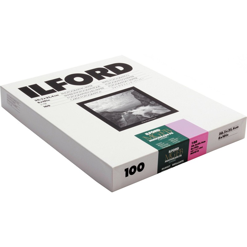 Ilford multigrade fb classic black and white paper 8 x 10 inch 100 sheets 1771983
