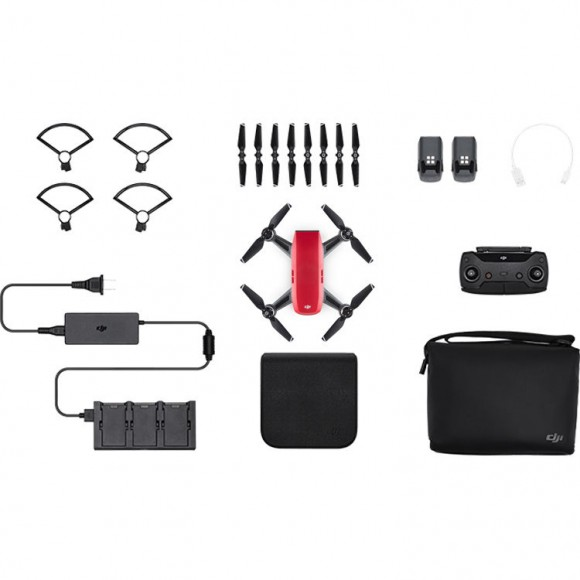 DJI Spark Fly More Combo - Red