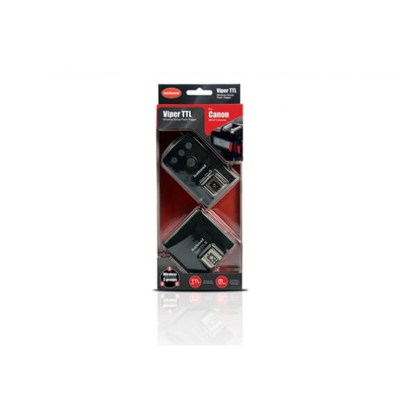 Hahnel Viper TTL Wireless Flash Trigger for Canon HN-VIP-CAN-KIT