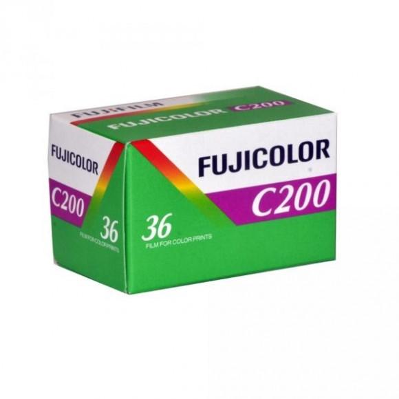 FujiFilm Fujicolor C200 35mm 36 Exposure Colour Print Film