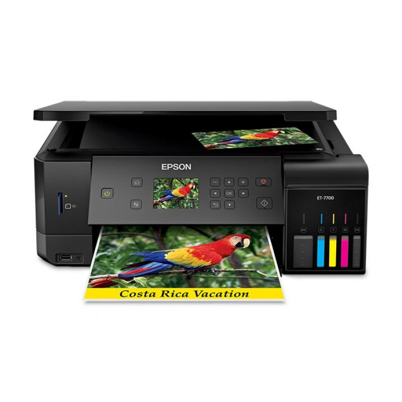 Epson EcoTank ET-7700 A4 Printer-Scanner