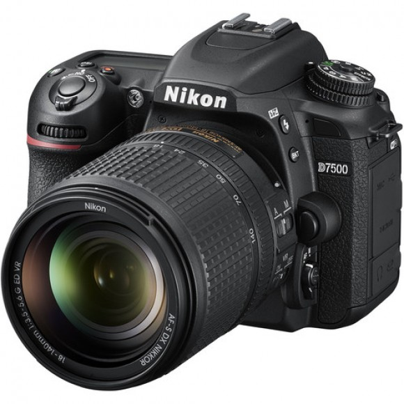 Nikon D7500 DSLR Camera with 18-140mm Lens €300 Cashback Available