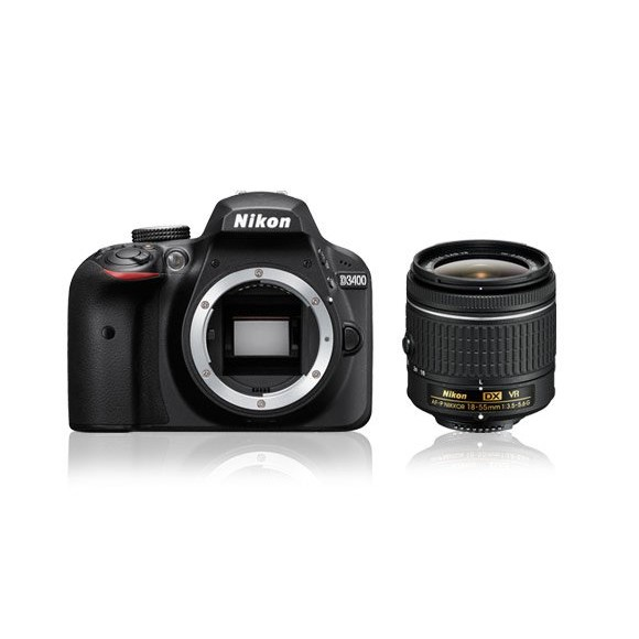 Nikon D3400 DSLR Camera with 18-55mm VR Lens (Black) €100 Instant Discount