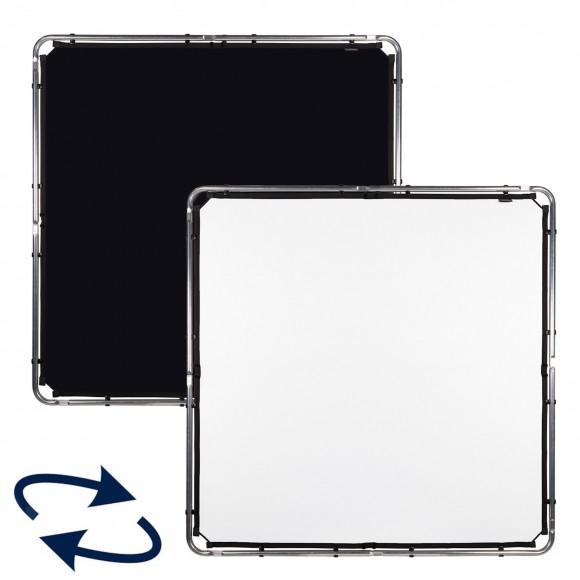 Lastolite Midi Skylite Fabric Black-White 1.5 x 1.5m LAS81521R