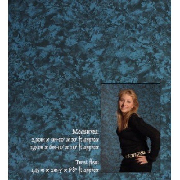 Ingrid Fondali 248 2.9X6M Blue Cloth Background IF2482.9X6