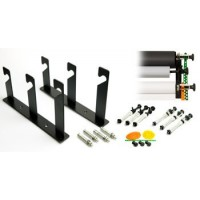 Interfit 312 Support kit  to wall mount three Paper background rolls