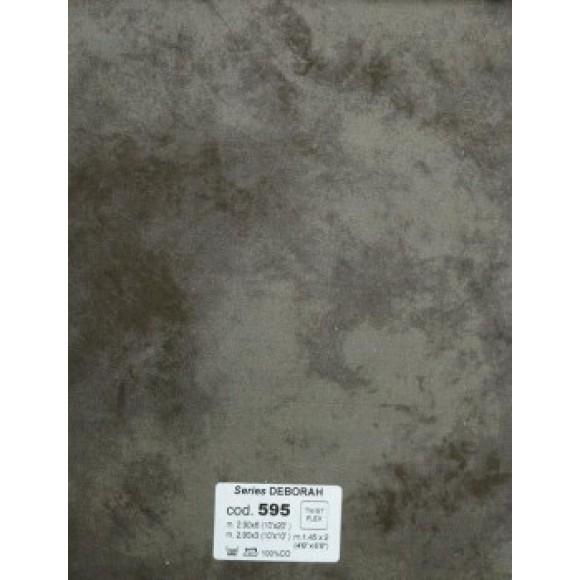 Ingrid Fondali 595 2.9x6m Dark Grey-Green Cloth Background IF5952.9X6