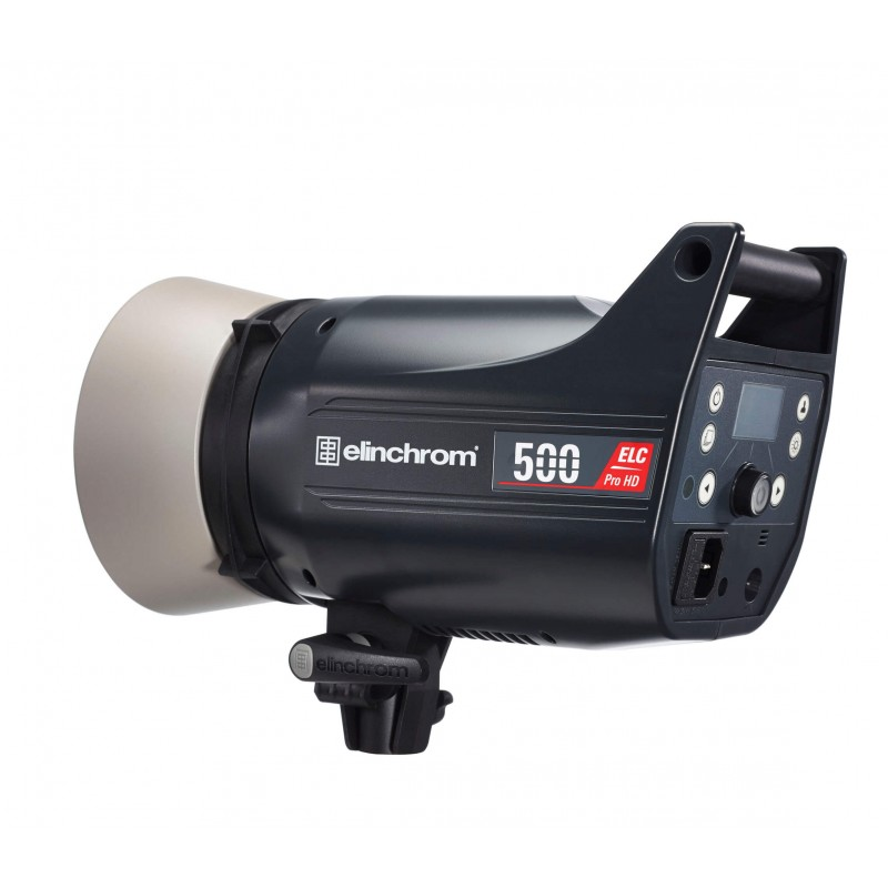 Elinchrom 500 Studio Lighting Kit: Elinchrom ELC Pro HD 500 Flash Head EL20613.1