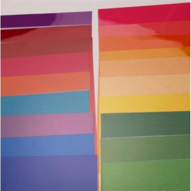 Elinchrom 21cm Assorted Colour Gels (20)