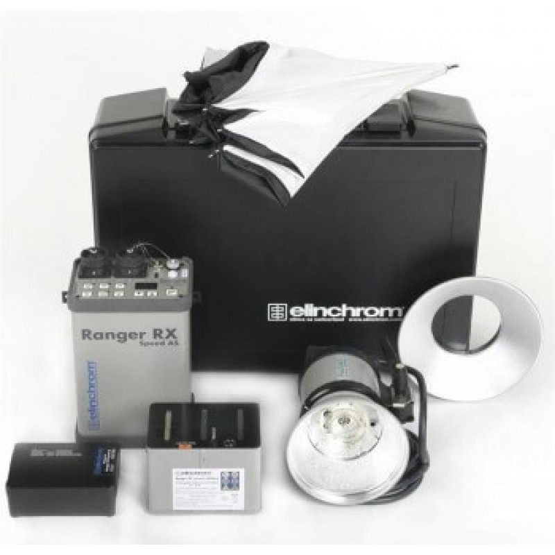 Elinchrom 500 Studio Lighting Kit: Elinchrom Ranger RX Set & A Head