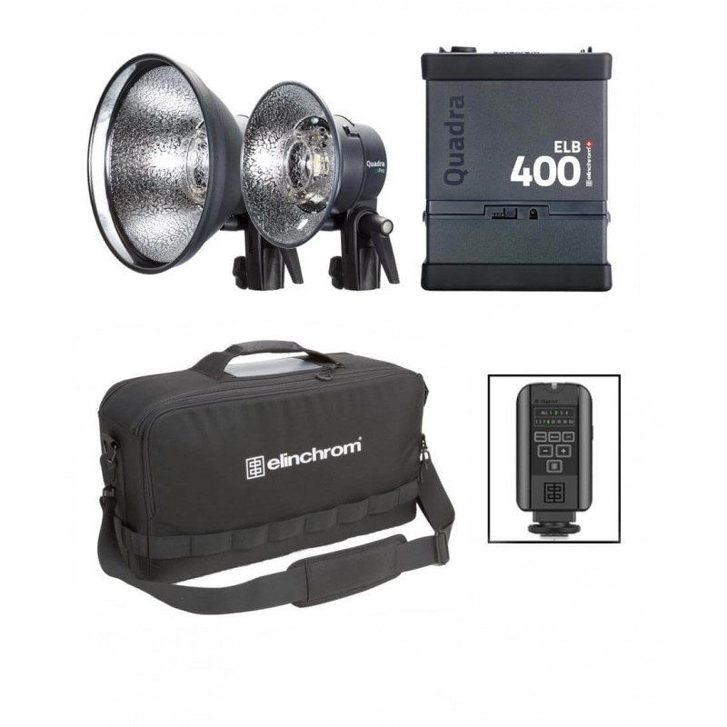 Elinchrom Frx 400 Studio Lighting Kit: Elinchrom ELB 400 Dual Pro To Go 2016 Set & Skyport Plus