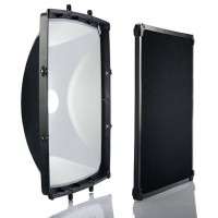 Elinchrom 44cm Square Reflector & Grid Kit  EL26048