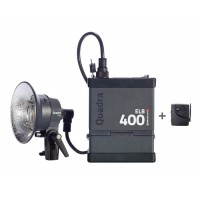 Elinchrom ELB 400 Quadra One Head PRO kit (Pack, Pro Head & Li-Ion Battery, Skyport & charger  EL10413.1