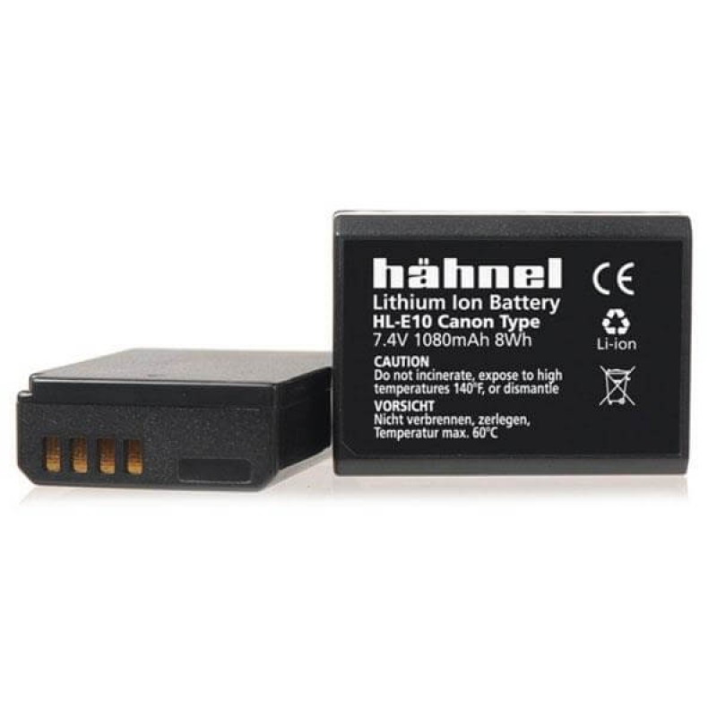 Hahnel HL-E10 Canon fit Li-Ion Battery, replacement for LP-E10