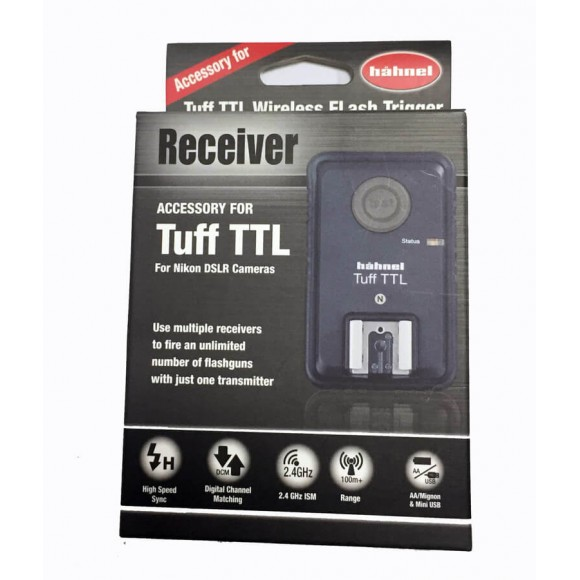 Hahnel Tuff TTL Nikon Receiver only