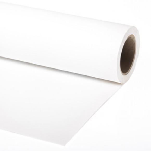 Lastolite Super White 2.72m x 11m Background Paper Roll 9001