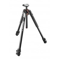 Manfrotto 190 aluminium 3-section tripod, with horizontal column (NEW)
