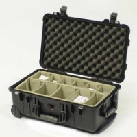 Peli 1510 Wheeled case with Divider set